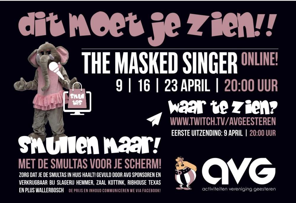 The Masked Singer Geesteren